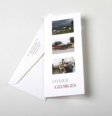 Other Georges Photographer Invitation